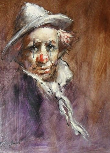 Pin by Pete Westbrook on watercolors hobo clown in 2019 | Clown