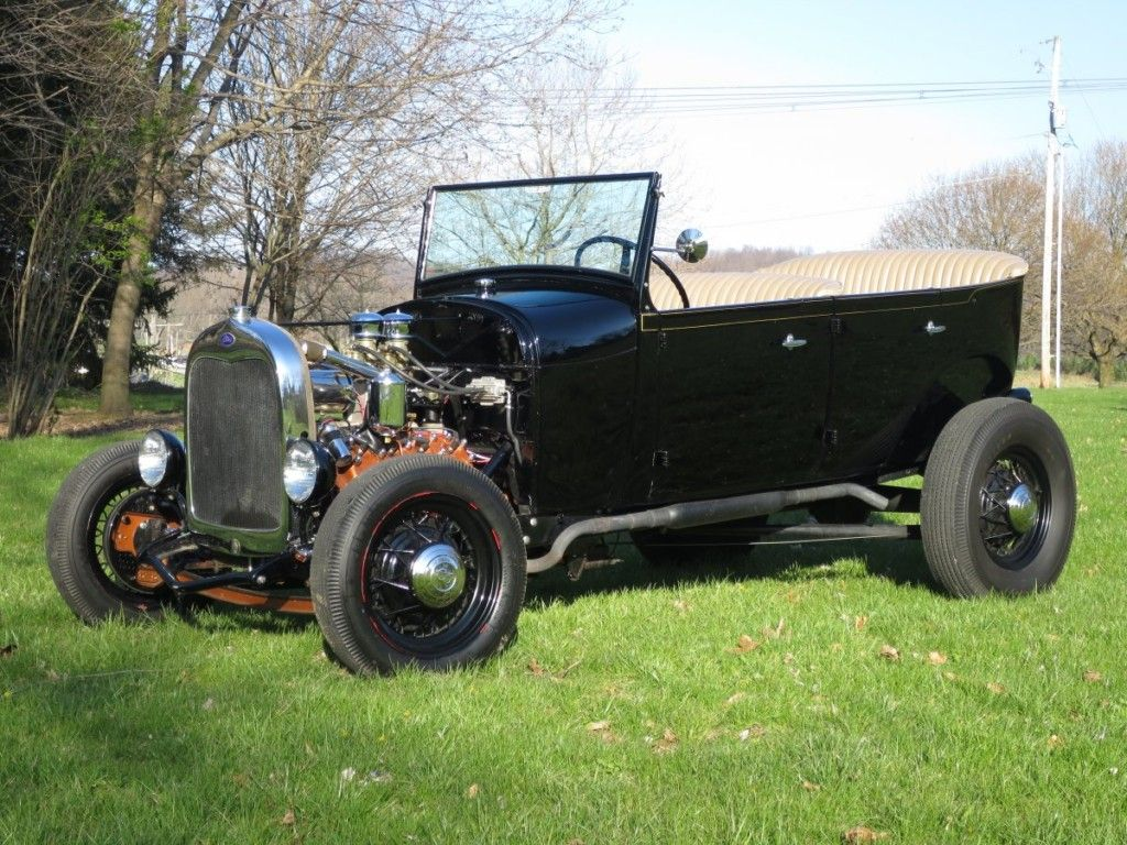 Traditional Four Door Hot Rod 1928 Ford Model A Phateon Ford
