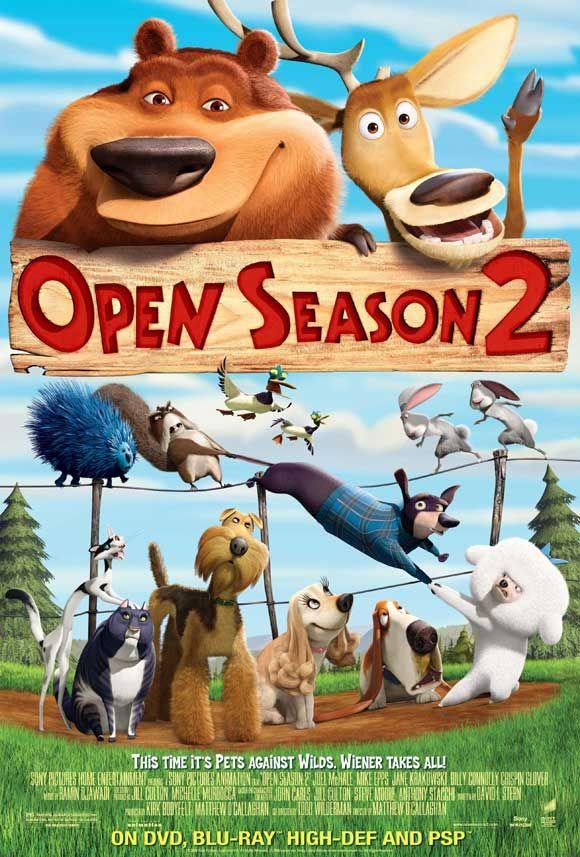 Movie Poster Open Season Animated Movies Cartoon Movies