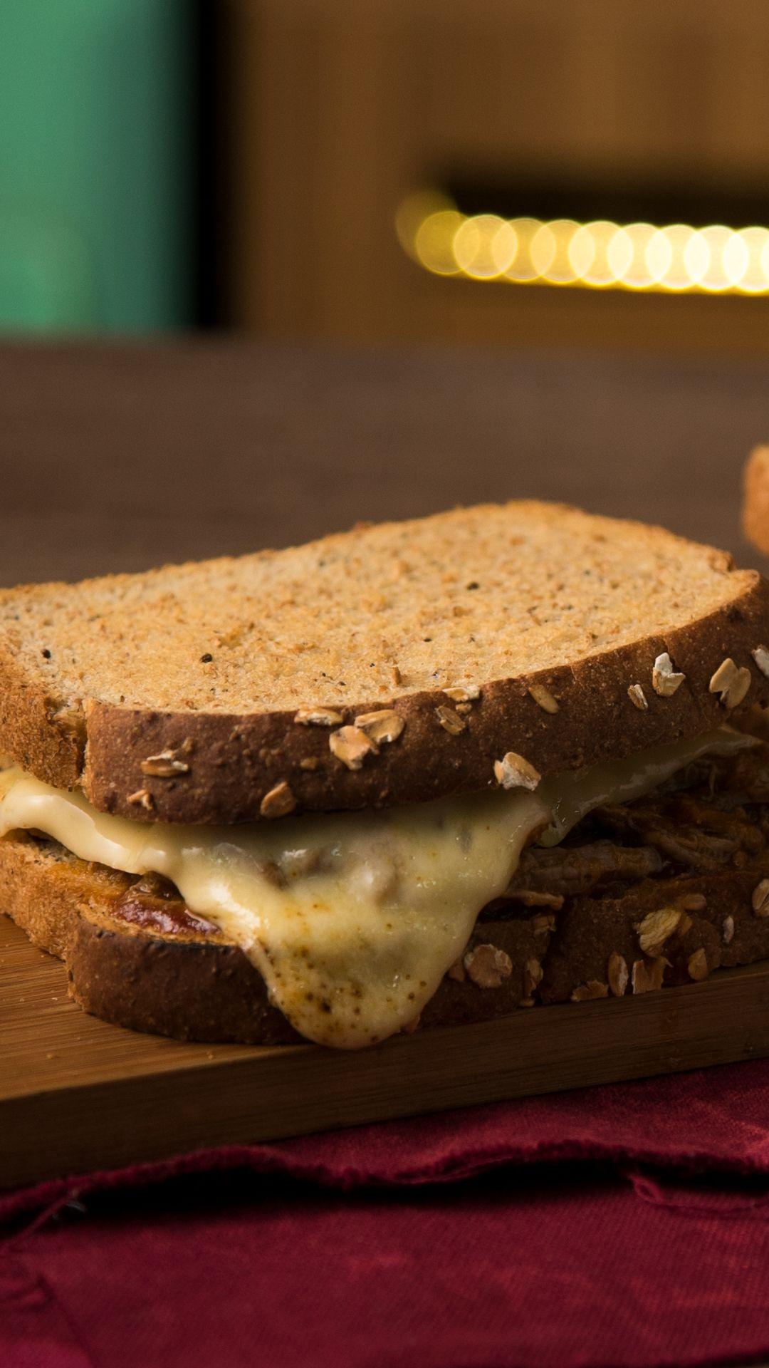 Sandwich De Carne Desmenuzada Y Barbacoa Receta Video Receta Video Recetas Fáciles De Comida Recetas De Comida Recetas De Comida Fáciles
