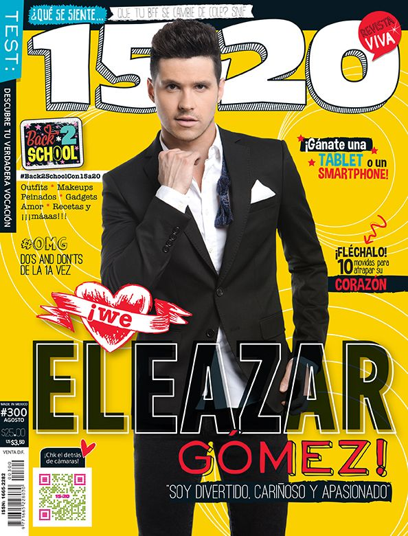 Eleazar Gómez por Emmanuel Campos para 15a20, México, agosto 2014