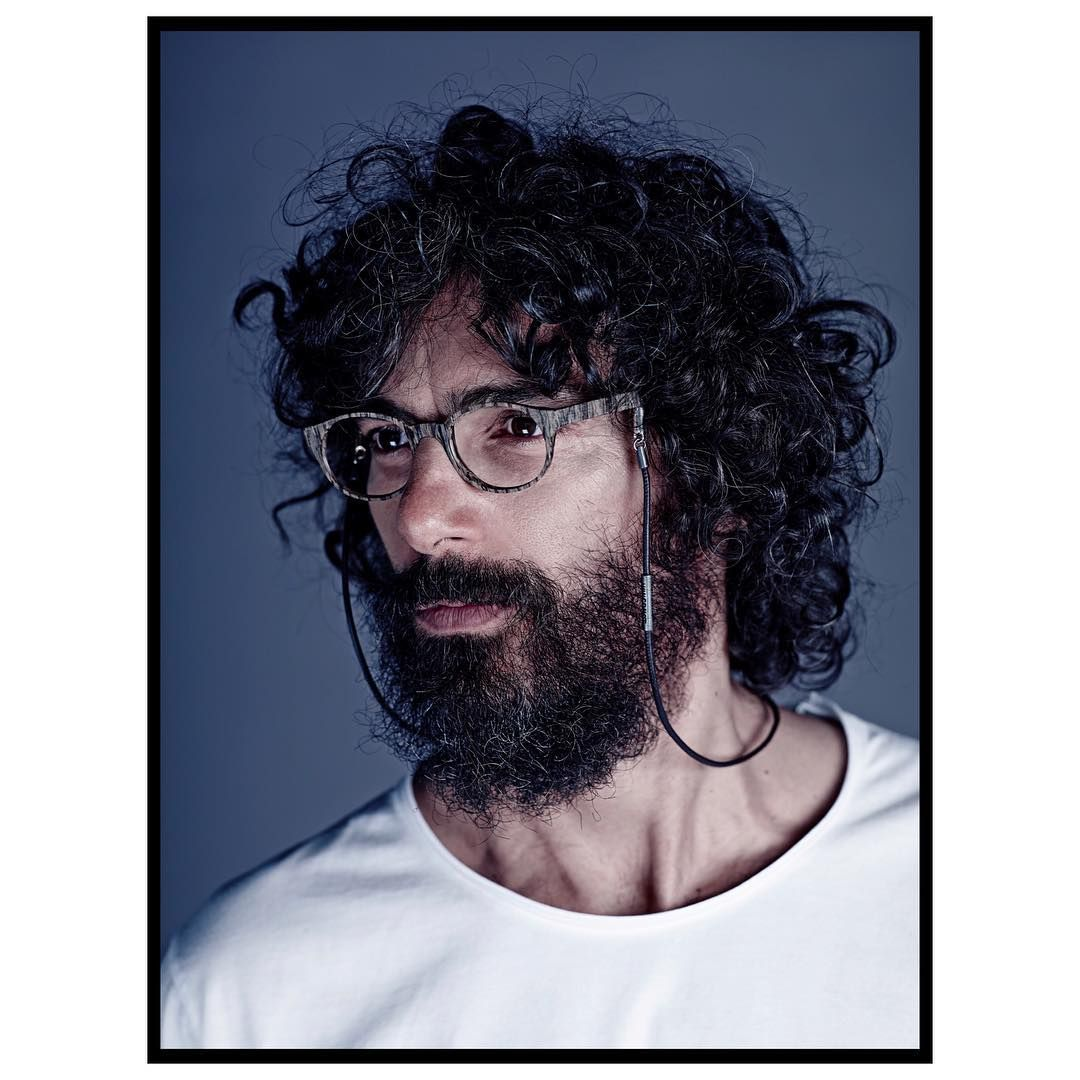 It's all about the perfect mix - optical frame PRIMO wearing @vonernst glassescord #image #campaign #2016 #the #clash #optical #frame #acetate #wood #stlye #glassescord #leather #in #black #inlove with this #combination