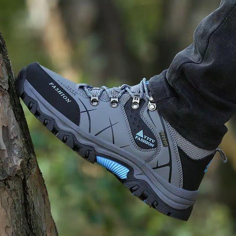 Sepatu Gunung Non Slip Yitu Fashion 400k Color 3 Color Size 39 47 Style Hiking Shoes 100 Brand Sepatu Gunung Non Sli Lacing Sneakers Sneakers Khaki Shoes