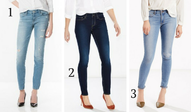 711 Skinny Jeans - Levi's #CalçaJeans #Skinny #Flare #Bootcut #Boyfriend #Jegging #CalcaReta