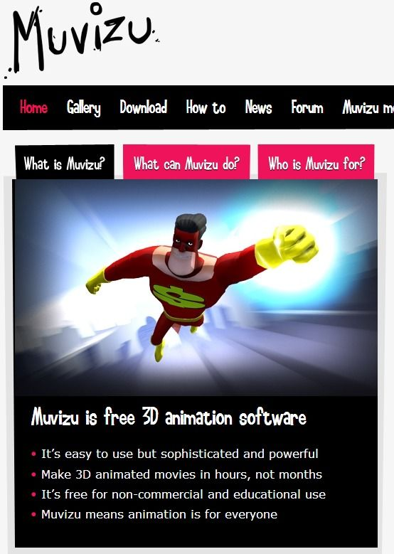 Muvizu Animation Software Animation Free 3d Animation Software Digital Story