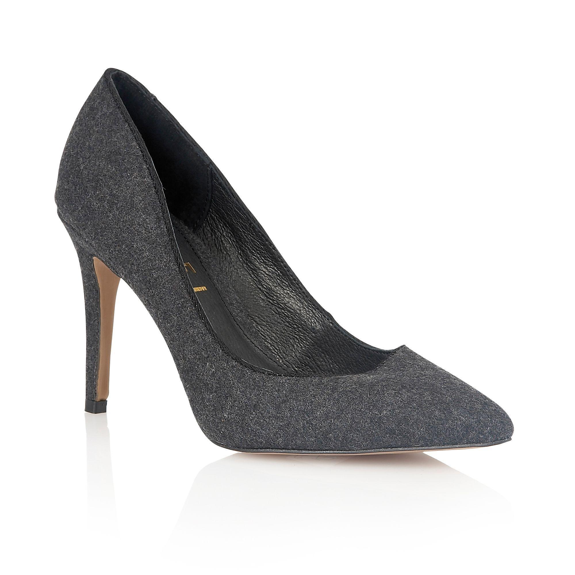 28bafed1db Ravel California heeled pumps, Charcoal | Ladies Shoes