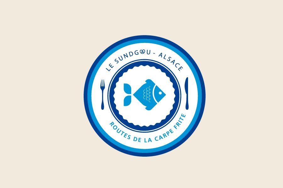 Brand design for Les Routes de la Carpe Frite