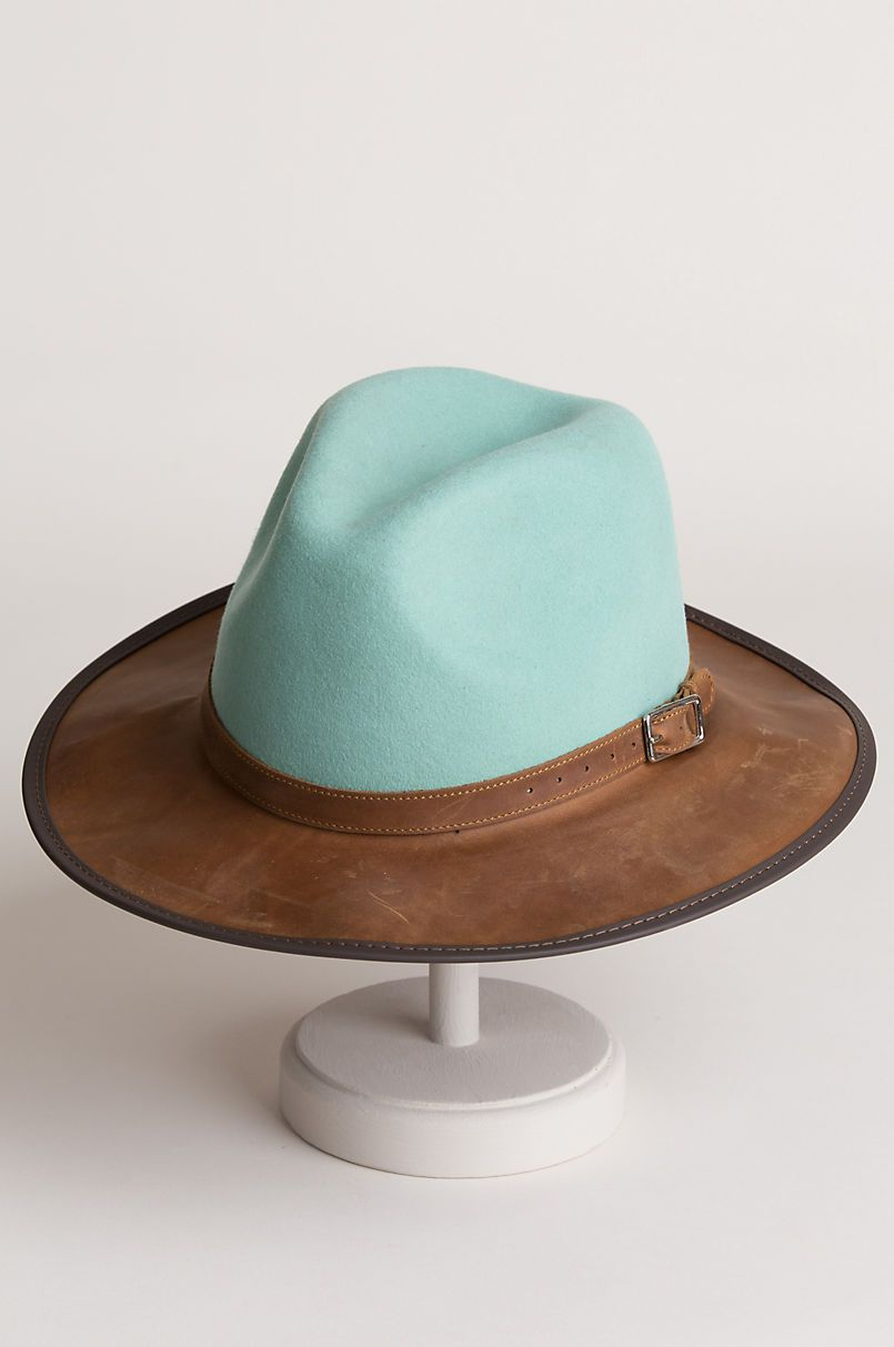 8f43102f6e4 Summit Wool Felt and Leather Safari Hat in 2019