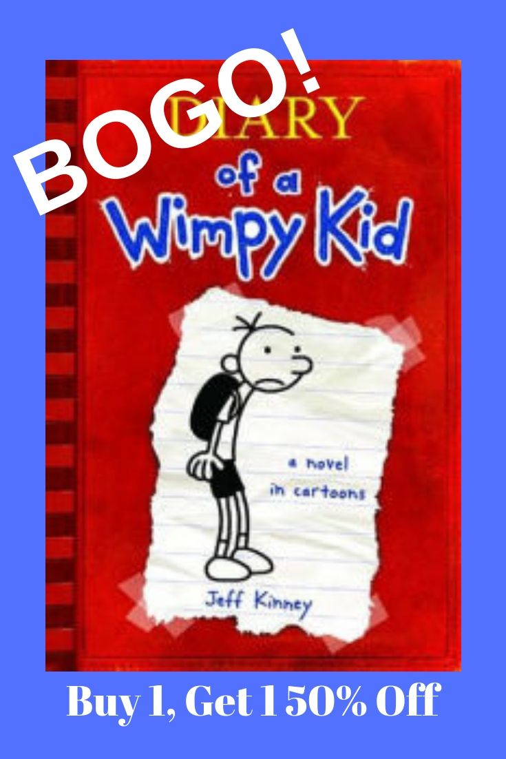 Buy one get one 50 off diary of a wimpy kid dork