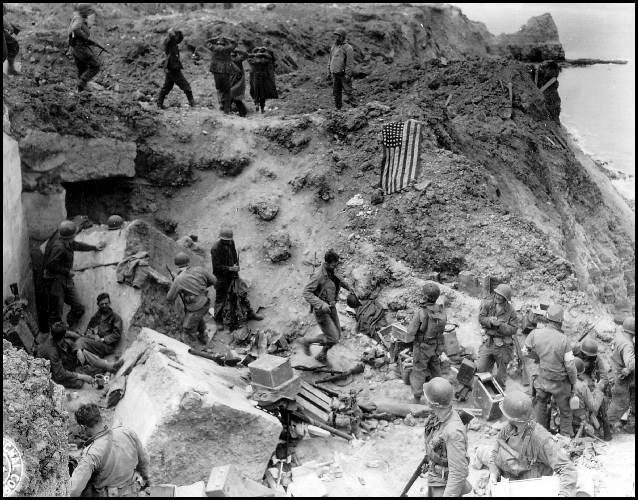 Point Du Hoc Normandia Era Una Carniceria Soldados D Day