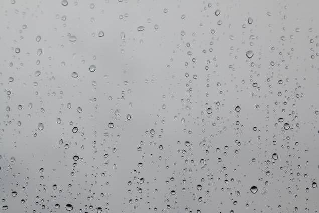 Drop Glass Pane Rain Water Wet Glass Glass Texture Natural Texture