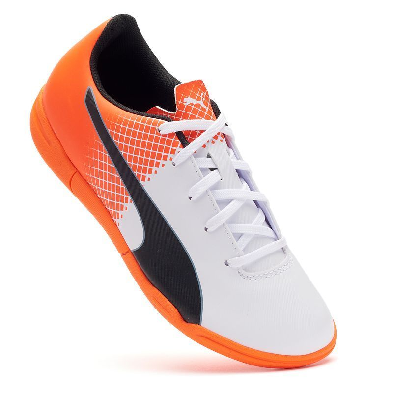 f3761d97212 ... cheap price on alibaba 6989e 7f8b3  australia puma evospeed 5.5 it jr.  boys indoor soccer shoes kids unisex size 12 white