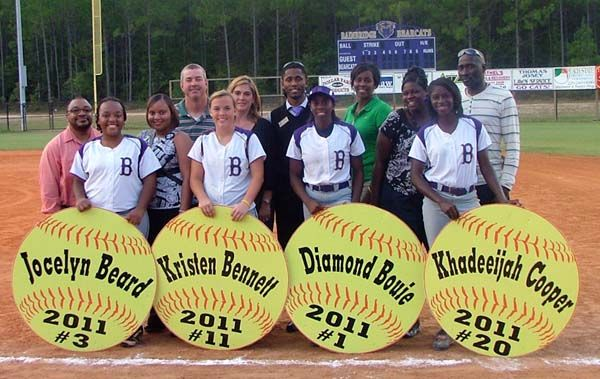 Eight lady cats seniors honored the post searchlight softball eight lady cats seniors honored aloadofball Images