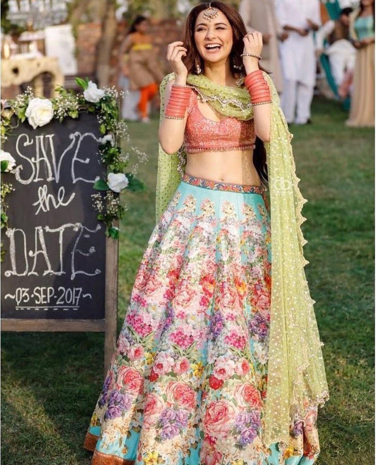f58ce2f6f6 Instagram | me | Indian dresses, Pakistani dresses, Mehendi outfits