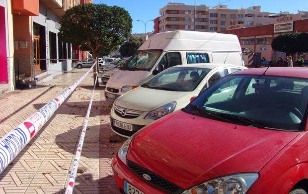 Infopalancia: Desprendimientos en la avenida España