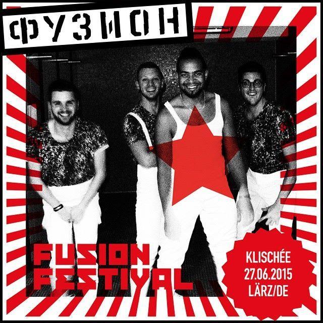 Klischée am Fusion Festival.
