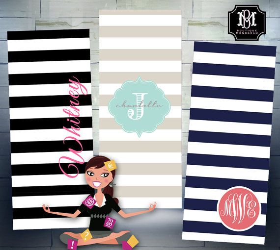 mats with product outfit work out ind monogrammed marleylilly yoga mat