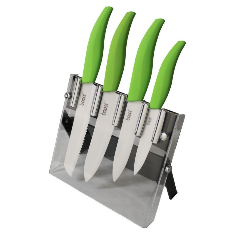 Baoci 5pcs Ceramic Knife Set Buy 30 50 Sale Ceramic Knife Set Ceramic Knife Knife Sets