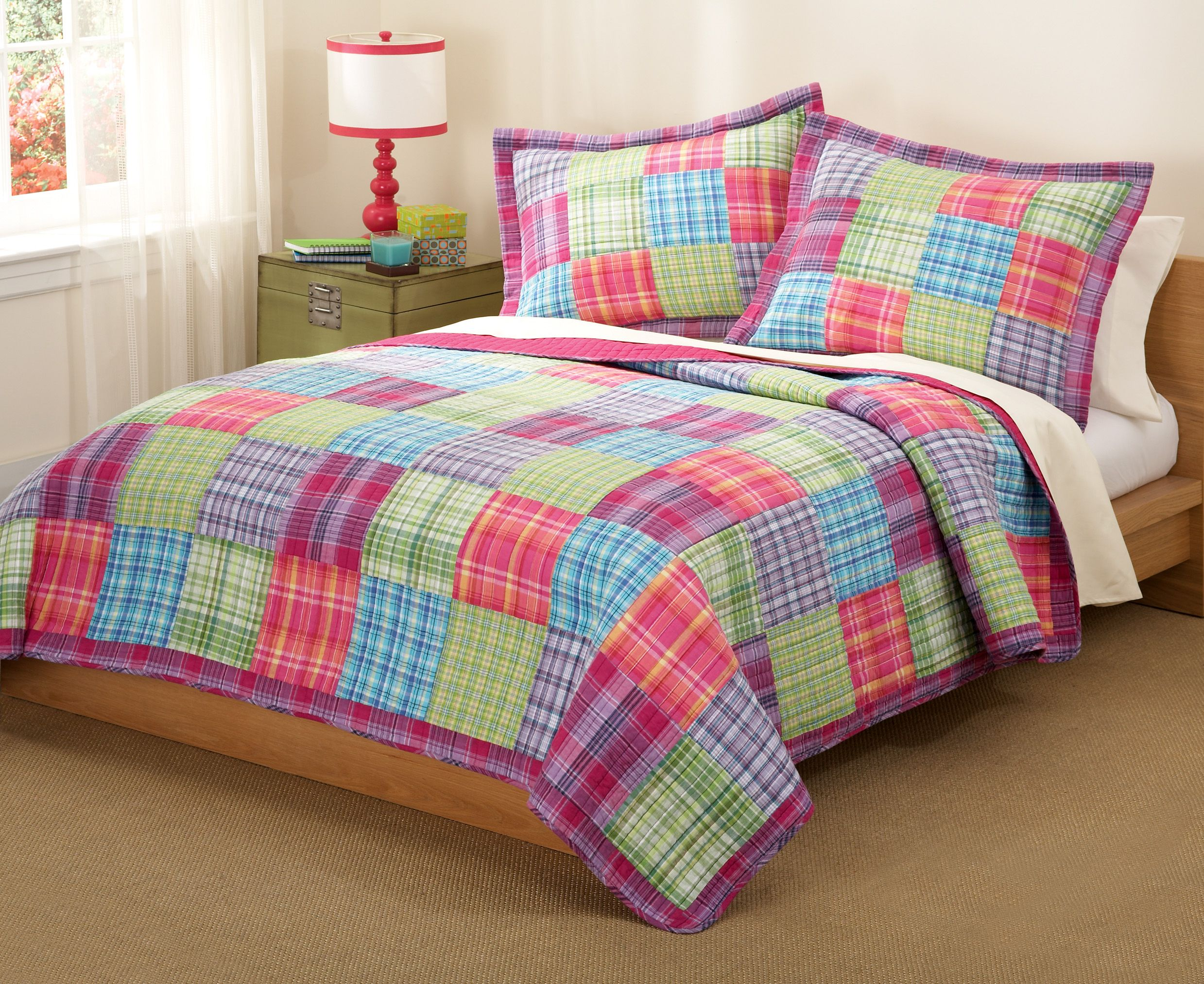 coral navy king quilt quilts set piece walmart com ip nesco