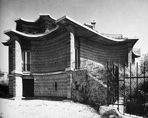 paolo portoghesi - casa baldi, rome, 1959-61