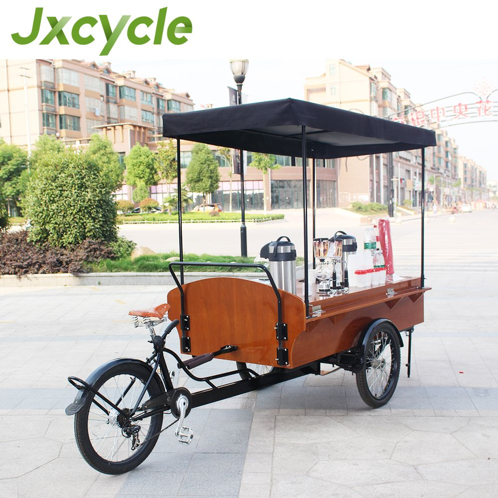 Electric Mobile Food Carts Coffee Bike For Sale Photo Detailed