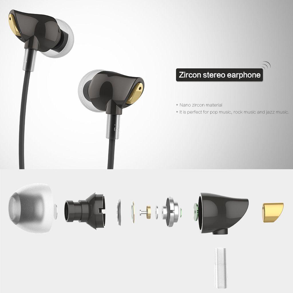 Fone De Ouvido In Ear Rock Zircon Stereo - Pronta Entrega - R$ 109,99 em Mercado Livre