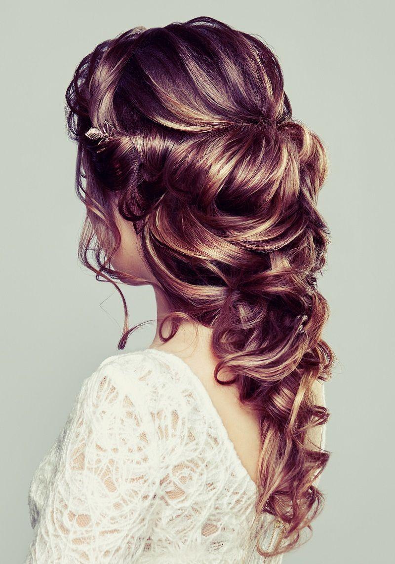 Brautfrisur Halboffen Für Lange Haare 30 Ideen Brautstyling