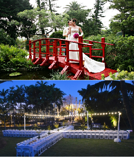 The Miami Beach Botanical Garden Is Yet Another Spectacular Wedding Venue  Located In The Heart Of