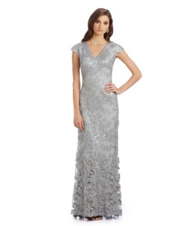 9f6c16554ef Shop for Tadashi Shoji Sequined Scalloped Lace Gown at Dillards.com. Visit  Dillards.com to find clothing