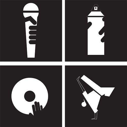 Hip Hop Wikipedia La Enciclopedia Libre Elementos Del Hip Hop Imagenes De Hip Hop Arte Hip Hop