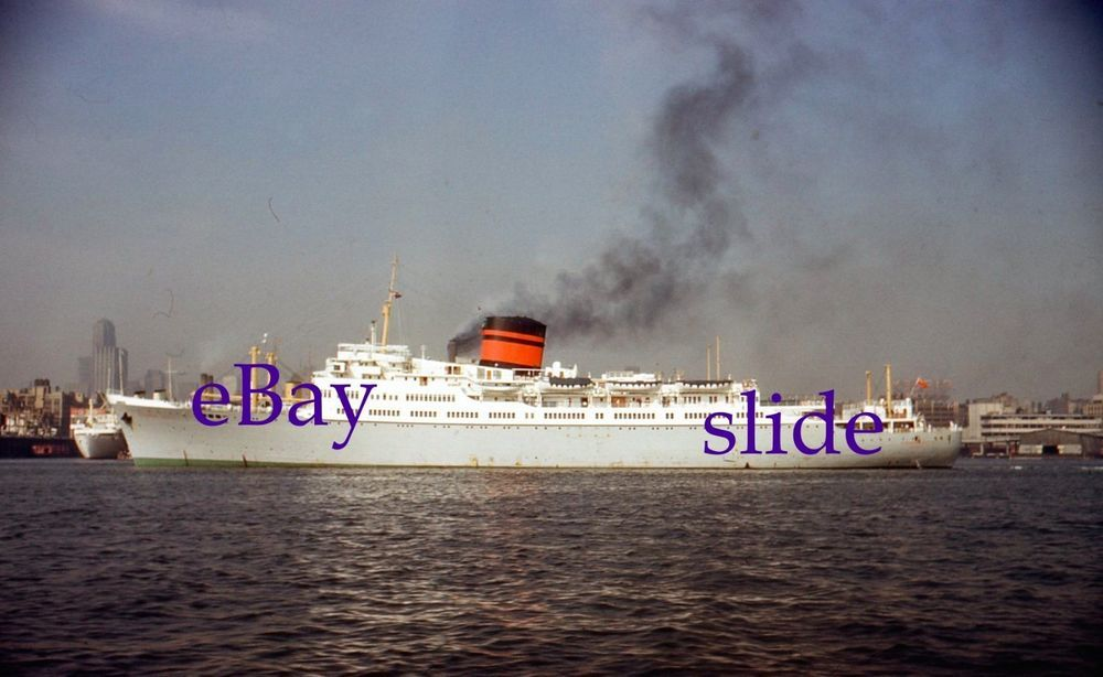 Mm Slide Furness Lines Cruise Ship Queen Of Bermuda NYC - Queen of bermuda cruise ship