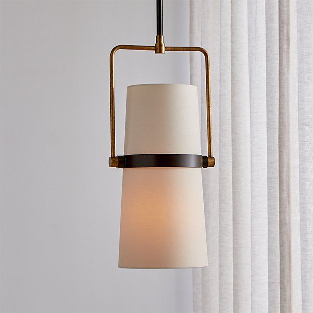 Riston Adjustable Pendant Light   Crate, barrel, Pendant ... on Riston Floor Lamp  id=38120