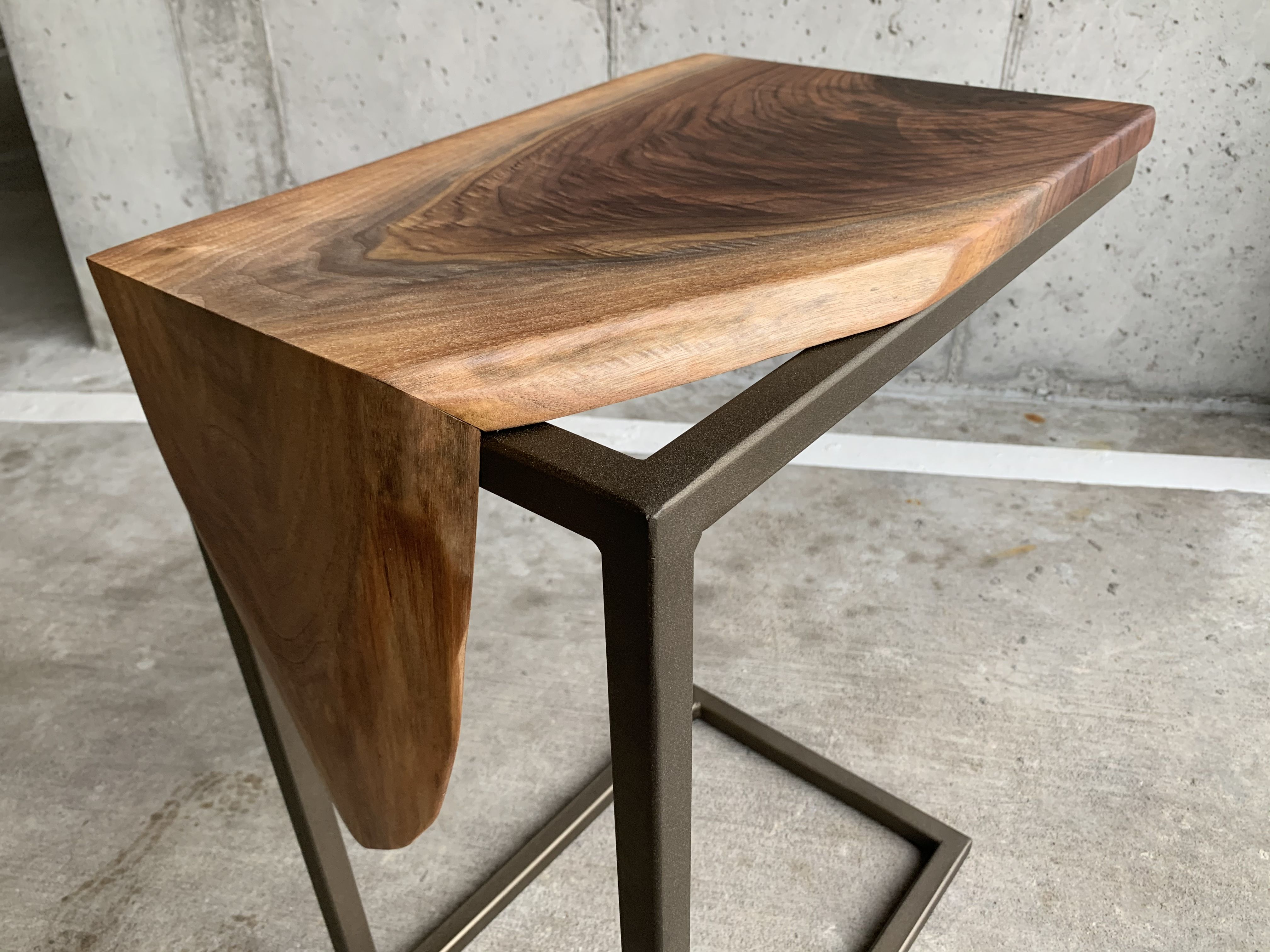 C Table Industrial Side Table Laptop Table Coffee Table Live