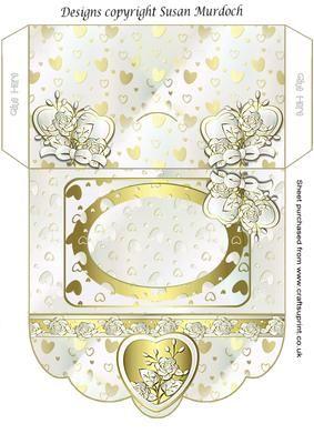 Wedding Gift Envelope Designs : GIFT ENVELOPE MONEY WALLET WEDDING ENGAGEMENT ANNIVERSARY on ...