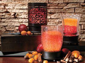 Celebrating Home OOH LA LAMP - EMMA Beautiful etched glass damask ...