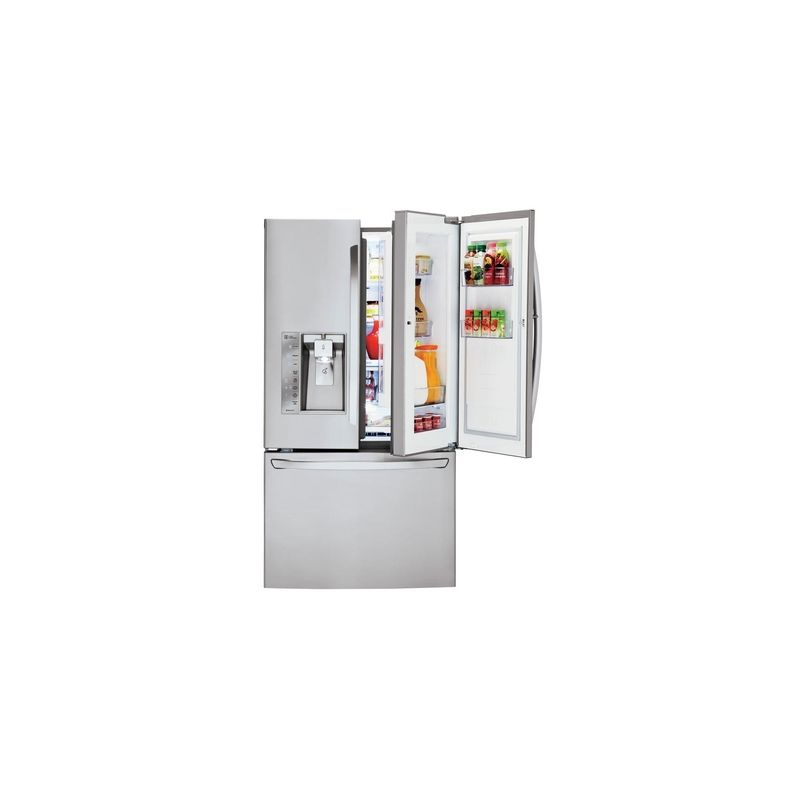 Lg Lfxs30766 36 Inch Wide 296 Cu Ft Energy Star Rated French Door