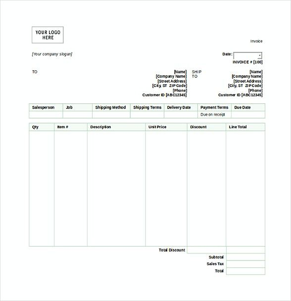 Invoice Shipping Custom Sales Invoice Template  Basic Invoice Template And General Writing .