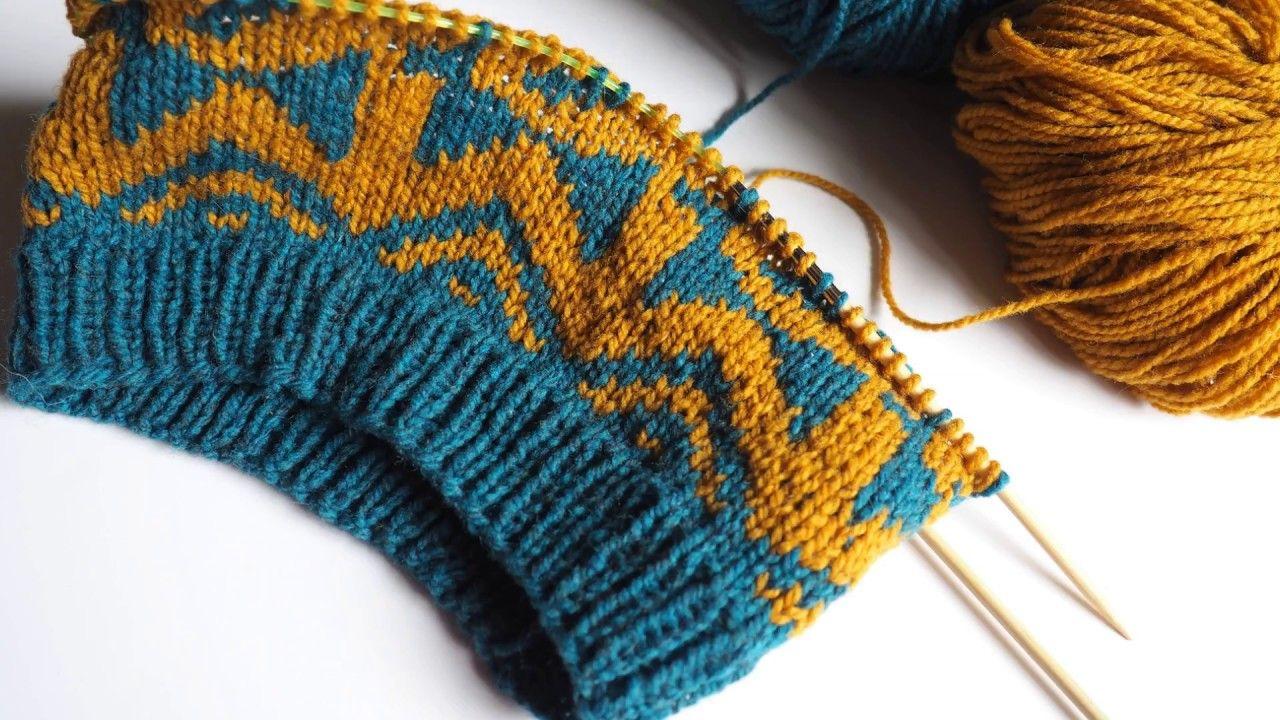 choisir les couleurs parfaites pour le tricot jacquard