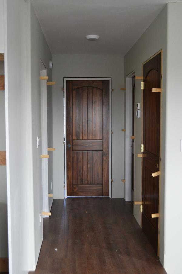 Staining Interior Doors Ana White Interior Barn Doors