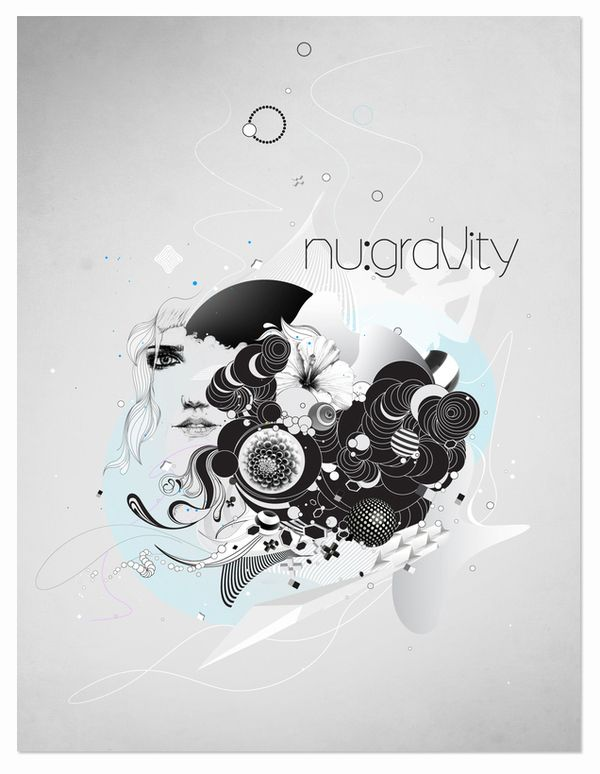 nu:graVity by Slava Fedutik, via Behance