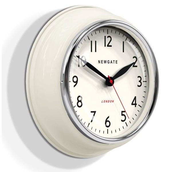 Newgate Cookhouse Wall Clock   Linen White. Kitchen ClocksKitchen Appliances Kitchen GadgetsVintage ...