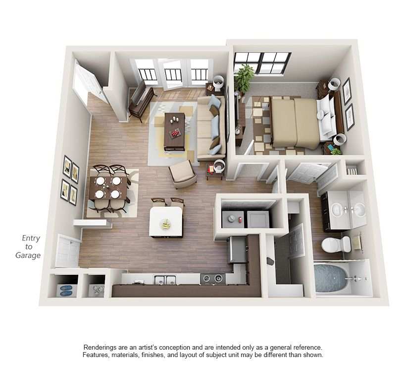 One And Two Bedroom Apartments In Oklahoma City Ok Oklahomacity Oklahoma Apartment Steadfast Apartment Layout Apartment Floor Plans Small House Plans