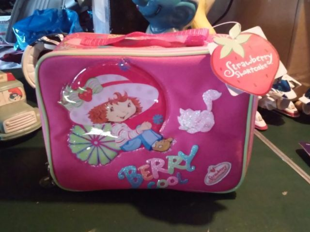 Strawberry Shortcake lunchbox Berry Cool 2004 Mint New Tagged