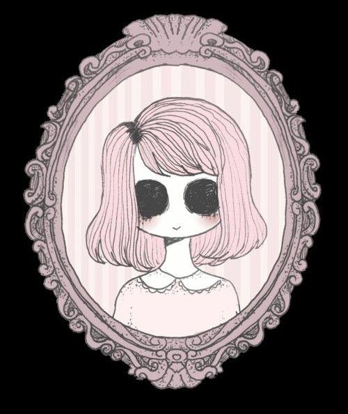 Creepy Pastel And Pink Image Pastel Goth Art Creepy Art