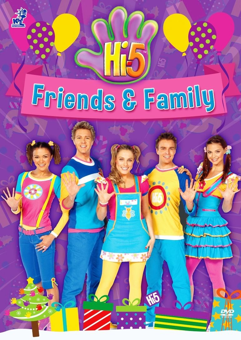 DVD Hi-5 Friends And Family 5 Episodes Australia Series Region All ...