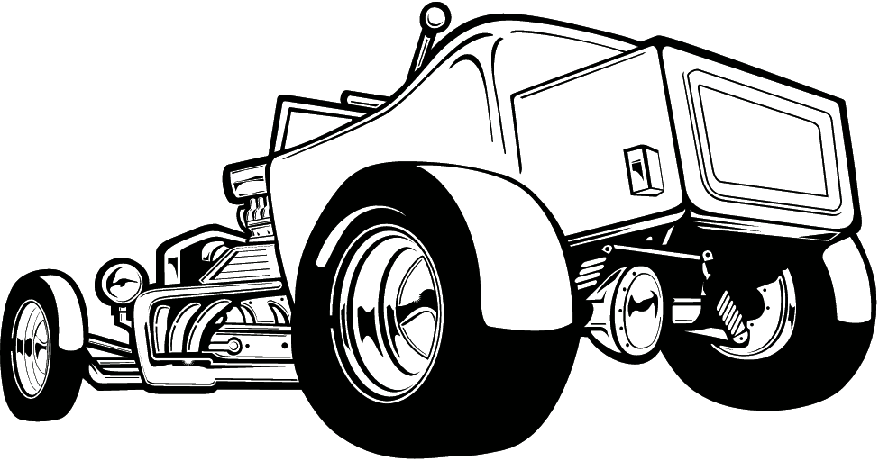 hot rod clip art black and white the best free library clipart rh pinterest com hot rod clipart vector free hot rod clipart drawing 1932 ford