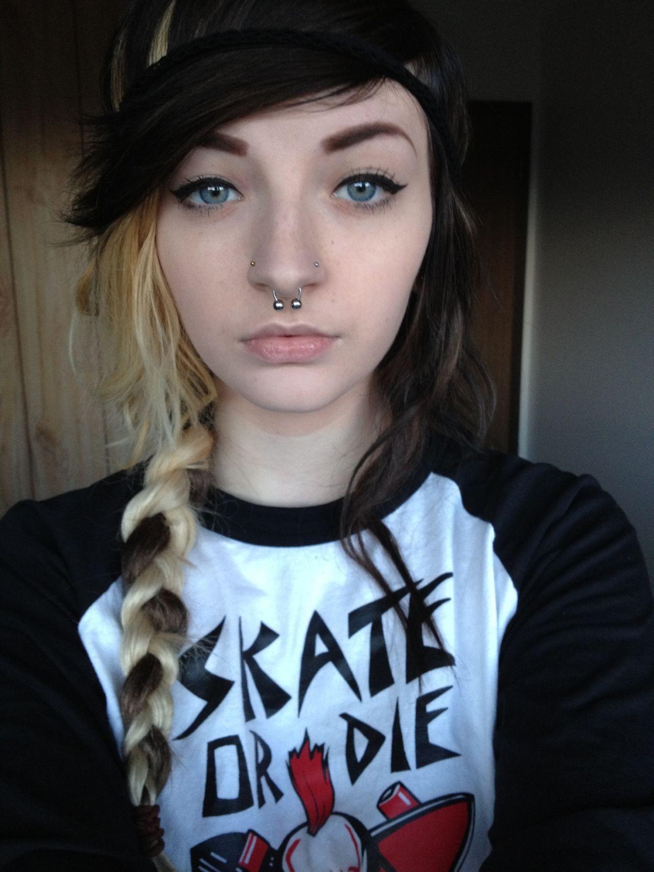 emo teen blonde Crazy