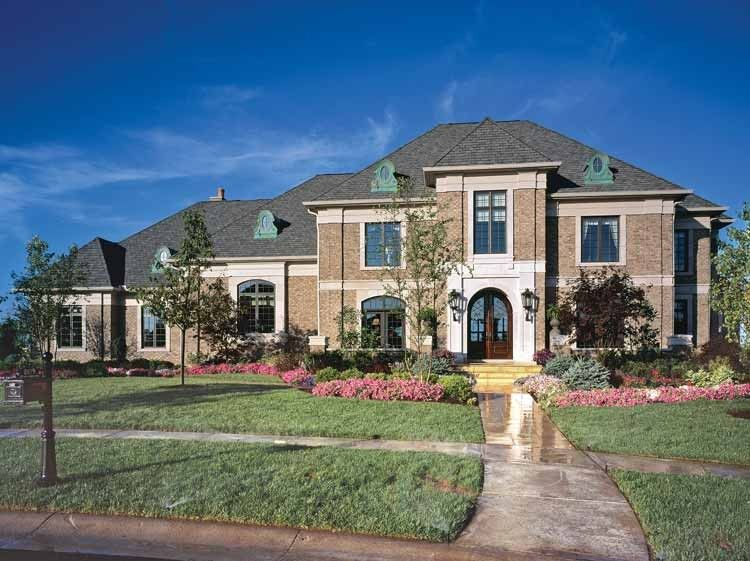 European House Plan With 11484 Square Feet And 5 Bedrooms S From Dream Home Source House Plan Co Luxury House Plans Monster House Plans House Plans And More