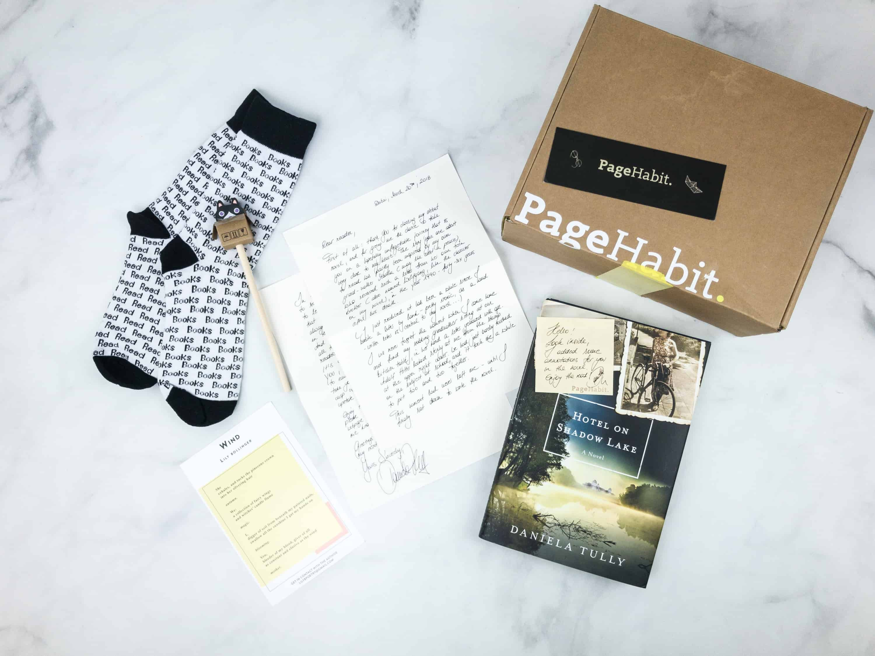 Pagehabit april 2018 subscription box review coupon historical explore these ideas and more fandeluxe Images