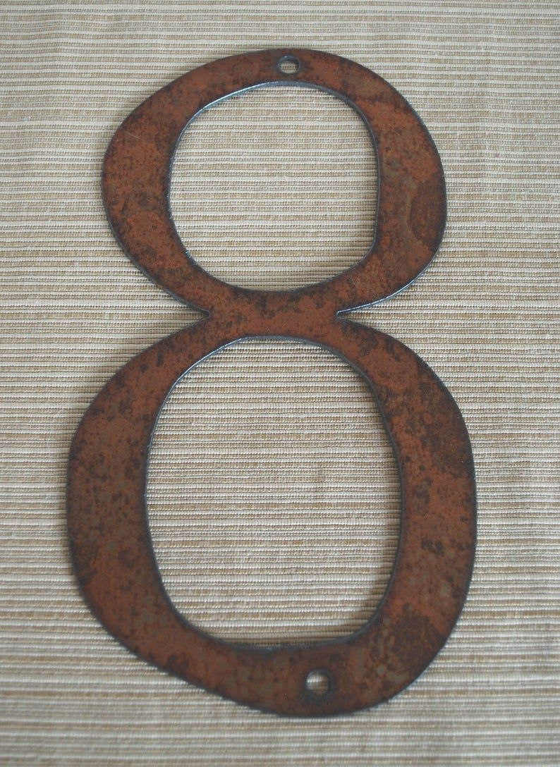 Pin On Metal House Numbers